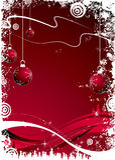 Christmas theme. Abstract christmas background. Vector illustration. Suits well for Christmas postcard Stock Image