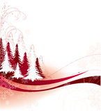 Christmas theme. Abstract christmas background. Vector illustration. Suits well for Christmas postcard Stock Images
