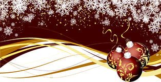 Christmas theme. Abstract christmas background. Vector illustration. Suits well for Christmas postcard Royalty Free Stock Photography
