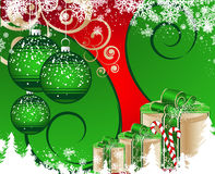 Christmas theme. Stock Images