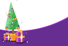 Christmas theme background. For your greeting message Stock Image