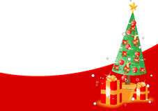 Christmas theme background. For your advert message Stock Image