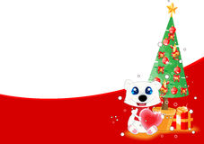Christmas theme background. For your advert text Stock Photos