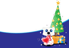 Christmas theme background. With text place Royalty Free Stock Image