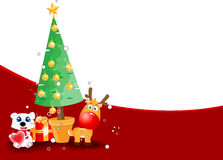 Christmas theme background. For your text Royalty Free Stock Images