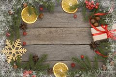 Christmas theme background stock image