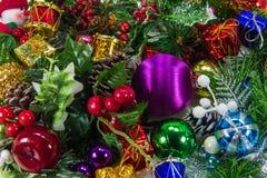 Christmas Theme Background Royalty Free Stock Photos