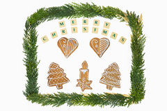 Christmas theme decoration . Royalty Free Stock Images