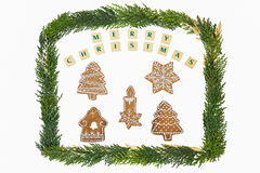 Christmas theme decoration . Stock Photo