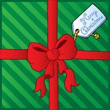 Christmas theme greeting card 4 Royalty Free Stock Images