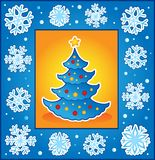 Christmas theme greeting card 5 Royalty Free Stock Photography