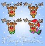 Christmas theme greeting card 6 Royalty Free Stock Photos