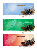 Christmas theme pine cones Stock Photo