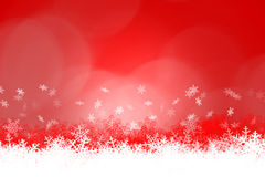 Christmas theme. Red background and white snowflake. easy to add your text Royalty Free Stock Image