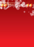 Christmas Themed A4 Banner Royalty Free Stock Images