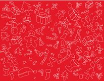 Christmas themes Royalty Free Stock Images