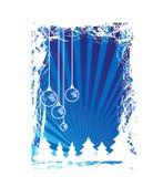 Christmas themes with bulbs Royalty Free Stock Photo