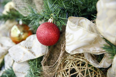 Christmas themes, Christmas arrangement Royalty Free Stock Images