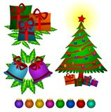Christmas things Royalty Free Stock Image