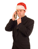 Christmas Thinking Royalty Free Stock Image