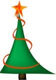 Christmas three. Vector - christmas three with star Stock Photos
