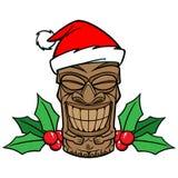 Christmas Tiki Stock Photography