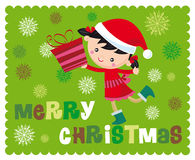 Christmas time royalty free illustration