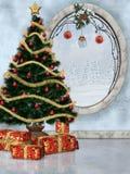 Christmas time. 3d render of christmas time Stock Photos