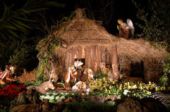 Christmas time. Nativity Stock Photography