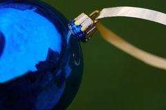 Christmas Time. A close-up of a christmas decoration royalty free stock image