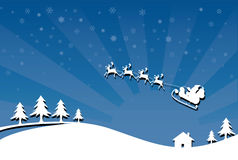 Christmas time. Vector illustration of the christmas time Royalty Free Stock Photo