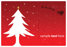 Christmas time. Vector illustration for christmas time Stock Images