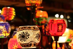 Christmas time. A tendency on the Dortmunder Christmas market, Germany stock photography
