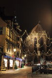 Christmas time in Alsace Royalty Free Stock Images