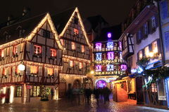 Christmas time in Alsace Stock Photo