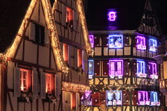 Christmas time in Alsace stock photos
