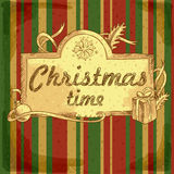 Christmas time background Royalty Free Stock Image