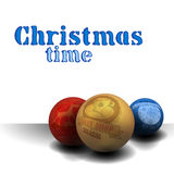 Christmas time background Royalty Free Stock Photos