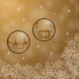 Christmas time - bowls Royalty Free Stock Photo