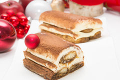 Christmas time cake Royalty Free Stock Photography