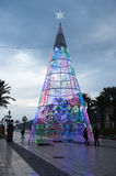 Christmas time in Cartagena , Spain Royalty Free Stock Photos