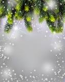 Christmas Time. Christmas border design. Stock Photos