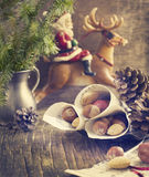 Christmas time. Christmas card. Stock Images