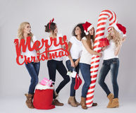 Christmas time is coming Royalty Free Stock Photos