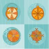 Christmas Time Concept Card Stock Image