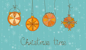 Christmas Time Concept Card Stock Photography