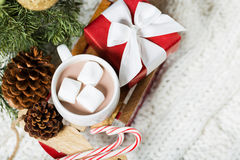 Christmas time concept Stock Images