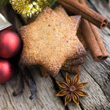 Christmas time, cookies Royalty Free Stock Images