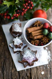 Christmas time, cookies Royalty Free Stock Photography
