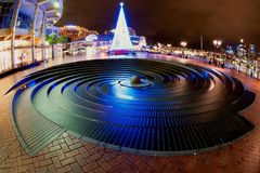Christmas Time in Darling Harbour Stock Photography